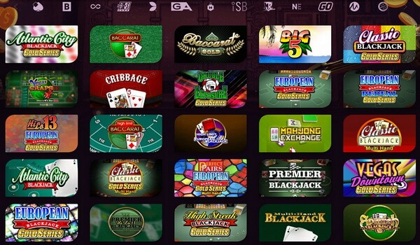 Start playing blackjack online