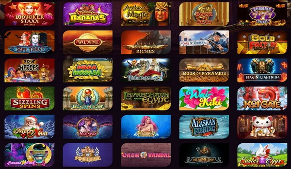New pokies games available